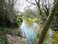 River Bourne at Idmiston - geograph.org.uk - 1803650.jpg