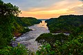 River Nile at Sunset, Uganda (15221077961).jpg