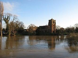 Atcham - Image: River Severn geograph.org.uk 660453