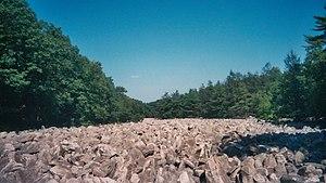 Hawk Mountain - Image: River of rocks at the Hawk Mountain, Pennsylvania 2007