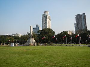 Metro Manila - The Rizal Monument in Rizal Park