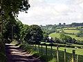 Road to Glan-rhyd-y-dre - geograph.org.uk - 1357160.jpg