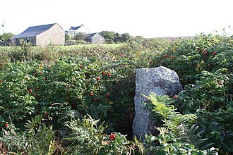 St Just in Penwith - The cross at Leswidden