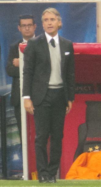 Roberto Mancini - Mancini managing Galatasaray in 2013