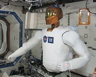Robonaut - R2 moves for the first time aboard the ISS