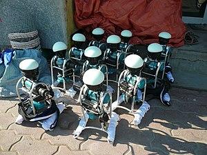 Robot jockey - Robot jockeys