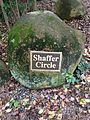 Rock with Shaffer Circle plaque.JPG