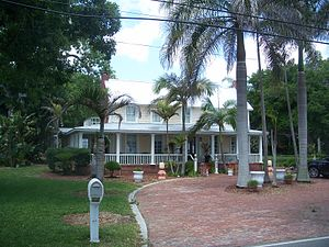 Rockledge, Florida - Modern-day picture of the Magruder-Whaley House