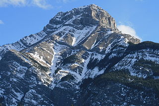 Mount McGillivray Mountain in Alberta, Canada