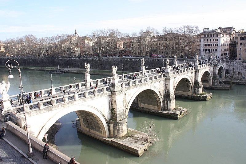 Rom, die Engelsbr%C3%BCcke, Bild 1.JPG