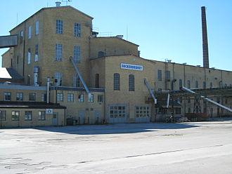 Roma, Gotland - The old sugar refinery in Roma