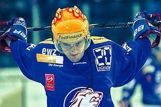Roman Wick Swiss ice hockey player