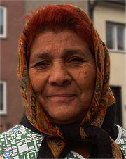 Romská žena z České republiky
