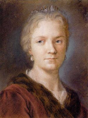 Rosalba Carriera - Image: Rosalba Carriera Self portrait 2