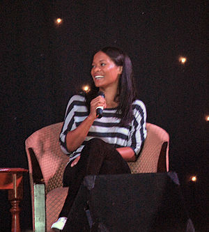 Rose Rollins - Rollins at fan convention for The L Word in 2009.