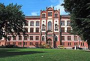 Hauptgebäude der staatlichen Universität Rostock