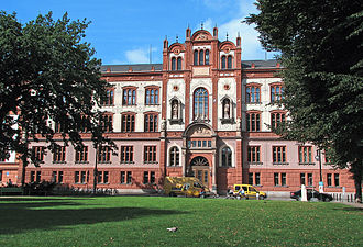 University of Rostock - University of Rostock's main building