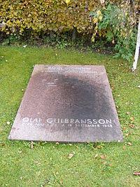 Rottach-Egern - Grab von Olaf Leonhard Gulbransson.jpg