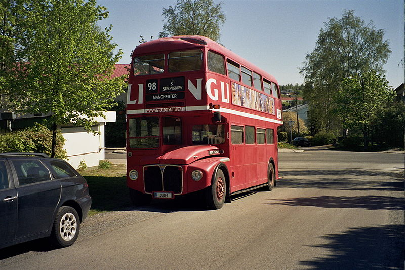 Tiedosto:Routemaster in Tampere May2008.jpg