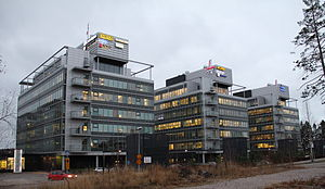 Rovio Entertainment - Rovio headquarters is in this office complex in Keilaniemi, Espoo.