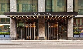 Row NYC Hotel - Image: Row NYC