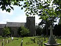 Roxton church and war memorial from the north - geograph.org.uk - 2463653.jpg