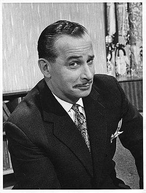 Roy Ward Dickson - Roy in 1960, on the set of Try for Ten!