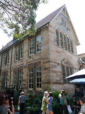 Darling Street - Rozelle Public School, designed by John Horbury Hunt