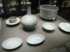 Ru ware - Group in the Percival David Collection.