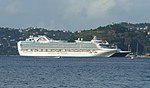 Ruby Princess at port in Grenada.jpg