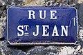 Rue Saint-Jean (Belley), panneau.jpg