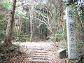 Ruins of a temple of Ohyama 2.JPG