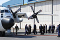 Russian delegation departure from Kodiak, crew soccer, BB game 110418-G-RS249-044.jpg
