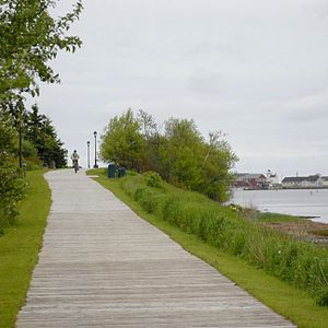 North Rustico - Boardwalk in Rustico. Tourism is an important part of the local economy.