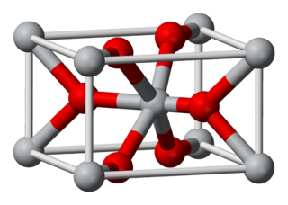 Oxide chemical compound with at least one oxygen atom