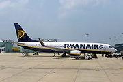 Boeing 737-800 at Bristol International Airport, Bristol, England