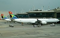 ZS-SNF - A346 - South African Airways