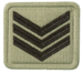 SANDF Rank Insignia Sergeant embossed badge.png