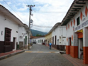 Skyline of Santa Fe de Antioquia