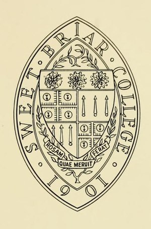 Sweet Briar College - Image: SBC.seal