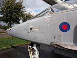 SEPECAT Jaguar XZ357 at the Piet Smits collection at Baarlo in Netherlands, pic 6.JPG