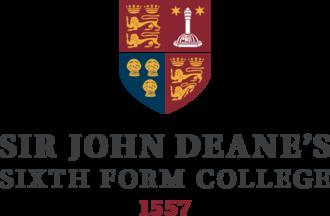Sir John Deane's College - Sir John Deane's Sixth Form College logo