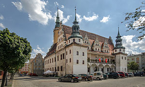 Opole Voivodeship - Brzeg, a popular tourist attraction for its Renaissance Town Hall and Castle