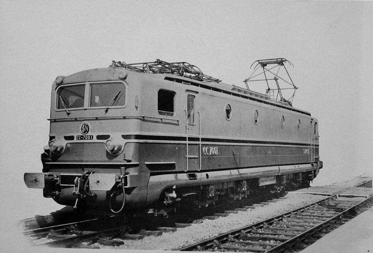 SNCF CC 7001 And 7002