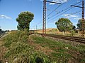 SNCF Nimes Montpellier with CNM bridges behind 6227.JPG