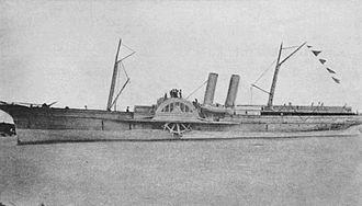 Union blockade - Image: SS A. D. Vance