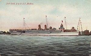 RMS Medina (1911) - Image: SS Medina