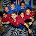 STS-107 crew in orbit.jpg