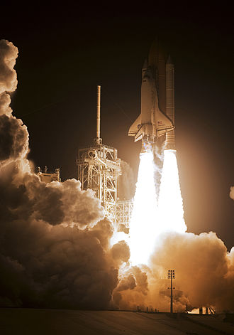 STS-128 - Space Shuttle Discovery launches from Kennedy Space Center, 28 August 2009