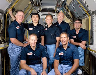 Don L. Lind - The crew of the STS-51-B mission. Lind is at the far left